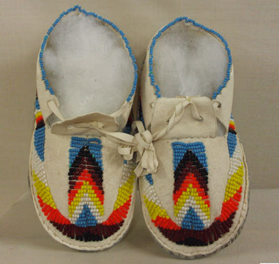 New Ankle Moccasin Boots With Bead Pattern Available now!
