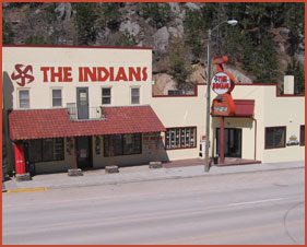 The Indians at Keystone - South Dakota - Indian Arts, Crafts and Gifts